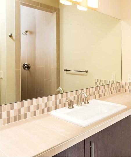 4 Sherwater Modern Guest Bath 451x540 Patty Jones Design