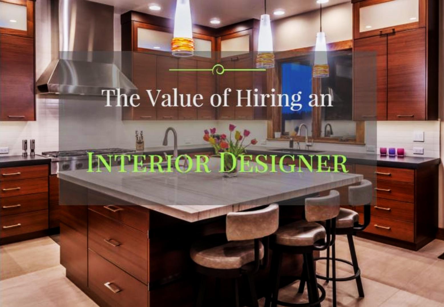 The Value of Hiring an Interior Designer Bend Oregon