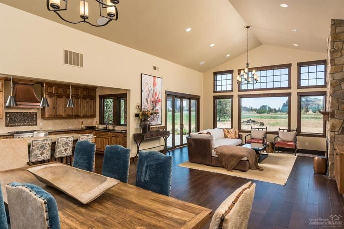 ranch house interior design central oregon