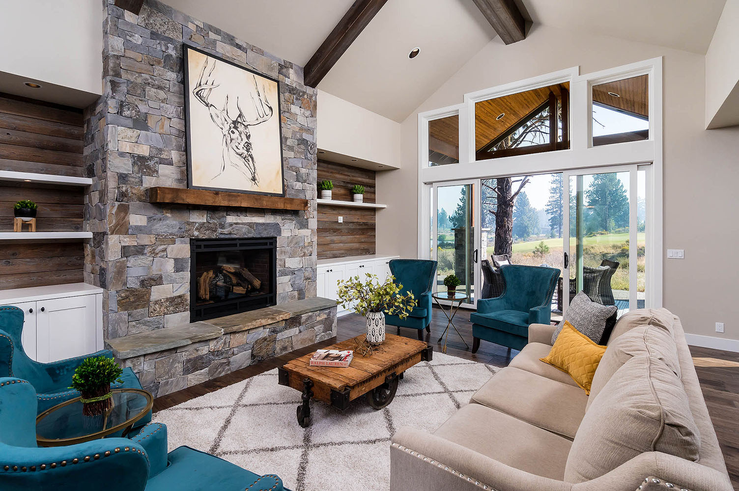 Farm House Central Oregon Interior Designer