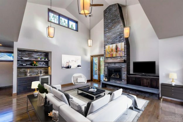 Living Room Mid Century Modern Interior Design